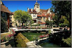 Canal des Tanneurs, Dole, Jura, Franche-Comté, France