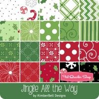 Jingle All the Way YardageKimberBell Designs for Maywood Studios Fabric