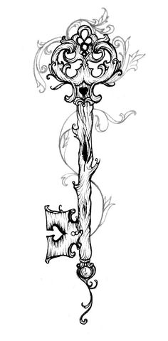 I want to be Picasso Key Drawings, Dark Art Drawings, Tattoo Design Drawings, Pencil Art Drawings, Art Drawings Sketches, Tattoo Sketches, Tattoo Designs, Witch Tattoo, Inspiration Tattoos