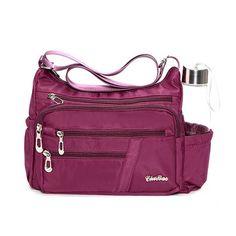 f7b2b9a0ec5c Women Nylon Travel Waterproof Crossbody Bag Casual Shoulder Bag - US 21.48  Cat Bag