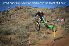 BetterRide alumnus Mckay Vezina living life! Mountain biking is a great way to stay in the moment!