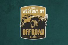 Check out Offroad Club Logo by sgcanturk on Creative Market