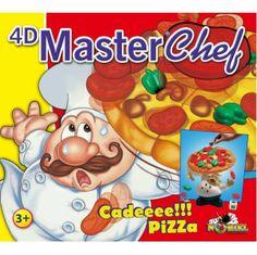 Spirdusii lui Mos Craciun au pregatit un pret special la Noriel pentru jocul 4D - Master Chef! - http://www.outlet-copii.com/outlet-copii/jucarii-copii/spirdusii-lui-mos-craciun-au-pregatit-un-pret-special-la-noriel-pentru-jocul-4d-master-chef/ - Gatitul n-a fost niciodata atât de distractiv! 4D – Master Chef este un joc perfect pentru piticii carora le place pizza, dar si competitia. Noriel – 4D Master Chef Un joc pentru 2-4 jucători de echilibru și îndemâna
