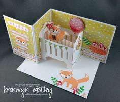 Foxy Baby by BronJ - Cards and Paper Crafts at Splitcoaststampers