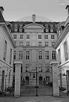Cours d'immeuble Paris