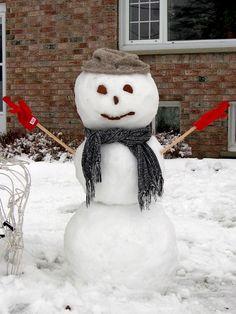 The Great Snowman Challenge - Petawawa, Ontario (Photo by Carol D. Ontario, Snowman, Challenges, Outdoor Decor, Home Decor, Homemade Home Decor, Snowmen, Decoration Home, Interior Decorating