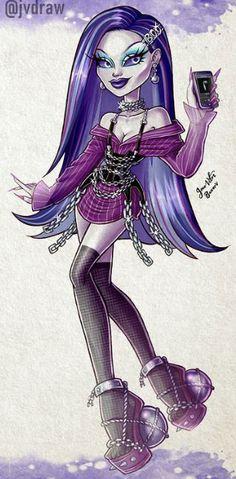 Monster High Cosplay, Monster High Art, Monster High Clothes, Monster High Characters, Monster High Dolls, Cartoon Girl Images, Girl Cartoon, Cartoon Art, Doll Drawing