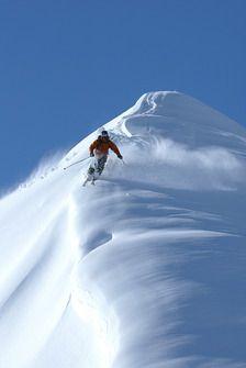 Such a nice ski line! #Ski #Breckenridge #Colorado