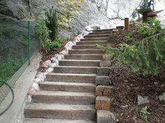 Výsledek obrázku pro schody do svahu