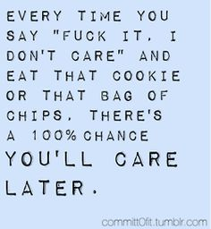 SOOO TRUE But remember sometimes it is good to care. It shows we love/very like someone