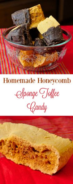 Crunch Candy Homemade Honeycomb Sponge Toffee Candy - an easy homemade candy recipe that you can dip in chocolate for a homemade version of a Crunchie Bar.Homemade Honeycomb Sponge Toffee Candy - an easy homemade candy recipe that you can dip in chocolate Flan, Crunchie Bar, Newfoundland Recipes, Toffee Candy, Toffee Recipe, Biscuits, Homemade Candies, Homemade Toffee, Christmas Baking