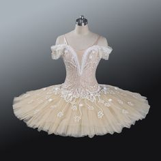 Professional Cream Ballet Tutu Costume Fairy Doll Grand Pas MTO YAGP Retail $650…