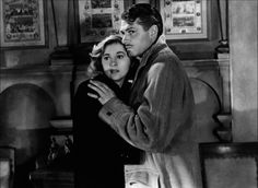 In memory of Joan Fontaine who died on 12/16/13 at age 96.  Here she is with Laurence Olivier in my favorite role of hers (and one of my favorite Hitchcock movies) as Mrs. DeWinter in Rebecca from 1940.  Trivia: She was the sister of Olivia DeHavilland who played Melanie in Gone with the Wind.
