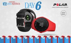 Technophiles will love our Day 6 Festivus prize from our friends at Polar! Win a pair (yeah, that's two!) of  M200 running watches valued at $380. Enter by midnight on December 7th for your chance!
