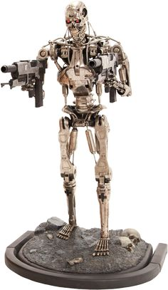 Terminator T-800 Endoskeleton Life-Size Figure by Sideshow C | Sideshow Collectibles