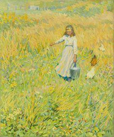 The Little Worker, 1902-12, Helen Galloway McNicoll