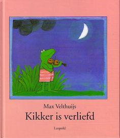 Kikker is verliefd-zo'n lief boek!