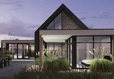 Villa A2 - interior | architecture | totaal concepten | interieur | tuinplan - Marco van Veldhuizen Garden Architecture, Residential Architecture, Modern Architecture, Modern Barn House, Modern House Design, Building Design, Building A House, Future House, My House