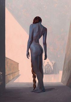 Sam Weber - Interior illustration from the Folio Society edition of Dune by Frank Herbert, 2016 Science Fiction, Dune Frank Herbert, Dune Art, Concept Art World, Portraits, Book Projects, Sci Fi Art, Illustrators, Folk