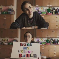 IDK what movie dis is but that sign tho is 👌 To The Bone Quotes, Bones Quotes, Lily Collins, To The Bone Movie, Ciara Bravo, Mal Humor, Skinny Motivation, Anorexia, Lol