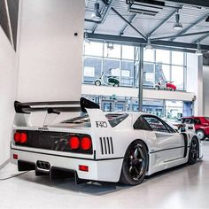 Ferrari F40 Blanca
