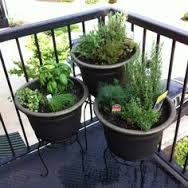 Image result for light weight high balcony planters
