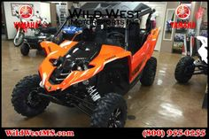 New 2016 Yamaha YXZ1000R Blaze Orange/Black ATVs For Sale in Colorado. 2016 Yamaha YXZ1000R Blaze Orange/Black, 2016 Yamaha YXZ1000R Blaze Orange/Black w/Suntop THE WORLD'S FIRST PURE SPORT SIDE BY SIDE The all-new YXZ1000R. A sport 3 cylinder engine and class-defining 5-speed sequential shift transmission. Welcome to the ultimate pure sport SxS experience. Features may include: Unmatched SxS Performance The all-new YXZ1000R doesn t just reset the bar for sport side-by-sides, it is proof…
