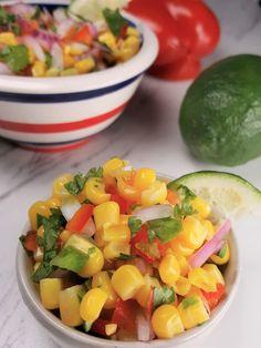 Simple Corn Salsa Recipe