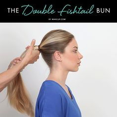 Time for a beauty upgrade! Check out our MDC masterpiece: the double fishtail bun.