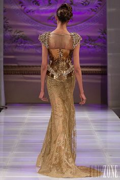 Amal Sarieddine - Couture - 2013 collection - http://en.flip-zone.com/fashion/couture-1/independant-designers/amal-sarieddine-3842