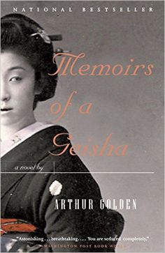 10 books recommended by Me Before You author Jojo Moyes, including Memoirs of a Geisha by Arthur Golden.
