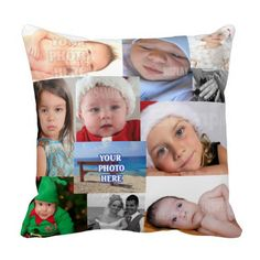 Photo Collage Make Your Own DIY Pillow