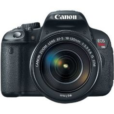 Canon EOS Rebel T4i 18.0 MP CMOS Digital Camera with 18-135mm EF-S IS STM Lens.    Dare to dream!