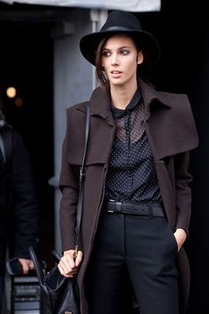 Can't get enough of NYFW style? Check out some snaps from last year.
