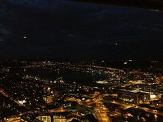 Night view from the top of the space needle | Yelp