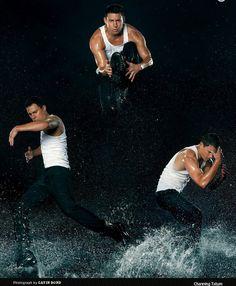Love this shoot - EW promo for Magic Mike!