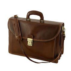 Cartelle da Lavoro in Pelle - 4008 - Borsa Vera Pelle #myalleshop Messenger Bag, Satchel, Semi, Firenze, Unisex, Ebay, Products, Fashion, Moda
