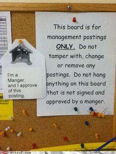 I approve of this posting. #approval #amusement #postings