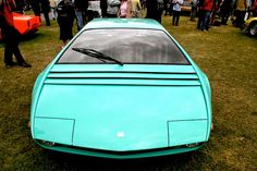 FAB WHEELS DIGEST (F.W.D.): 1968 Bizzarrini Manta Concept by ItalDesign