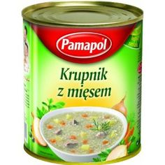 Pamapol Barley Soup with Meat Krupnik 780 g (Pack of Barley Soup, Coffee Cans, Packing, Meat, Amazon, Food, Bag Packaging, Amazons, Riding Habit