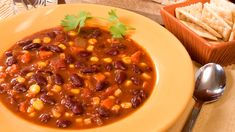 Epicure's Vegetarian Chili (Copyright © Epicure Selections) Epicure Recipes, Vegetarian Chili, Chana Masala, Food Inspiration, Soup, Yummy Food, Cheater, Meals, Dinner