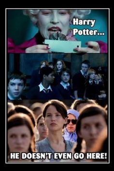 Harry Potter, Hunger Games, and Mean girls all in one