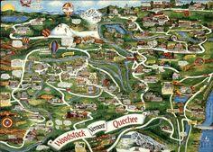 Street Map of Woodstock & Quechee, Vermont Maps