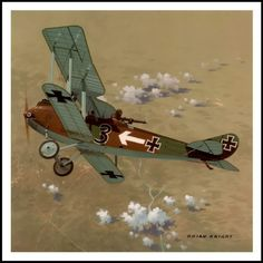 Rumpler C-IV was a high-altitude (20,000 feet) reconn aircraft introduced in 1917.