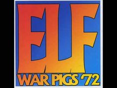 """Elf - Driftin' from the compilation """"War The rock outfit Elf is best-known as the group that gave singer Ronnie James Dio his sta. 70s Music, Music Icon, Music Love, War Pigs, James Dio, Jethro Tull, Vocal Range, Rock Outfits, If I Stay"""