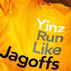 Yinz Run Like Jagoffs tee for the Pittsburgh Marathon!  http://myfreshfactory.com/yinz-run-like-jagoffs.html