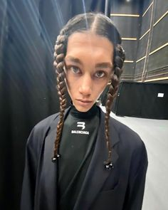 Instagram post by Balenciaga • May 13, 2021 at 1:21pm UTC Balenciaga, High Fashion, Hair Styles, Instagram Posts, Beauty, Hair Plait Styles, Couture, Hair Makeup, High Fashion Photography