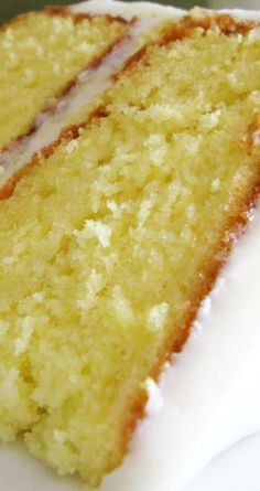 Lemonade Cake with Lemon Cream Cheese Frosting. A tasty recipe for a spring or summer party!