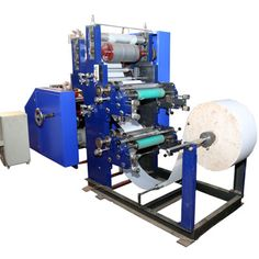 Finetech Tissue Machines is the foremost Tissue Paper Napkin Machine Manufacturers. Our offered machines are available in different configurations to make the work of manufacturing tissue paper simpler. It boosts your production level and reduces your labor cost. So, why wait? Place your order via mail now.