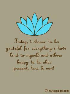 A dádiva da felicidade chega com a gratidão.